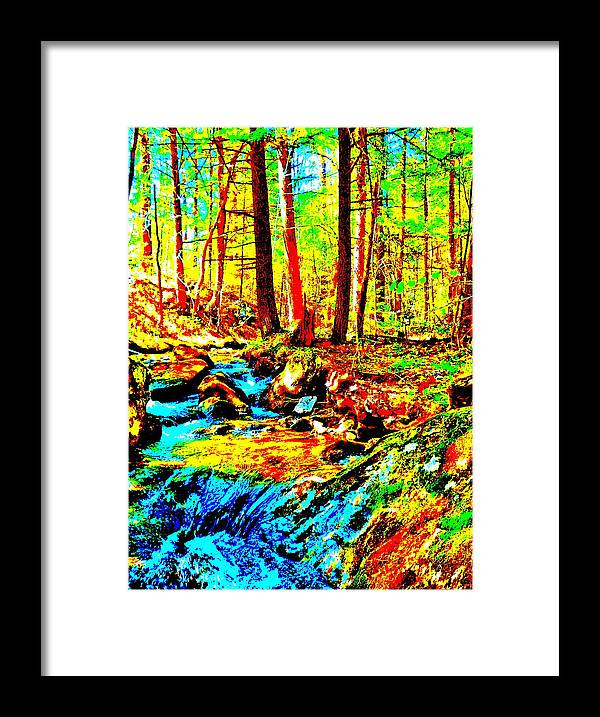 Landscape Framed Print featuring the photograph Mellow Yellow 86 by George Ramos