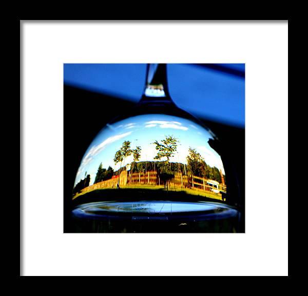 Nik Watt Framed Print featuring the photograph Melville Refraction by Nik Watt
