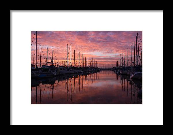 Marina Framed Print featuring the photograph Memories Of Last Summer by Heidi Smith