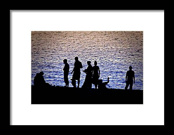 Michigan Framed Print featuring the photograph Mennonite Sunset Too by Sennie Pierson