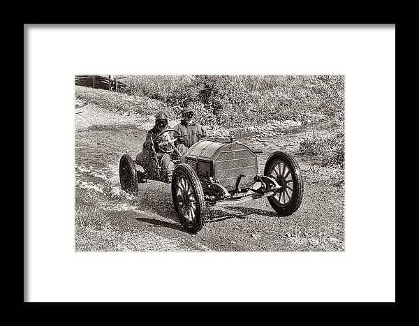 1912 Framed Print featuring the photograph Mercer Raceabout by Olivier Le Queinec