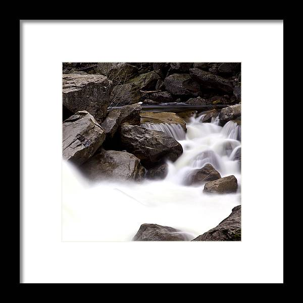 Mercer River Framed Print featuring the photograph Mercer Rapids by Chandru Murugan