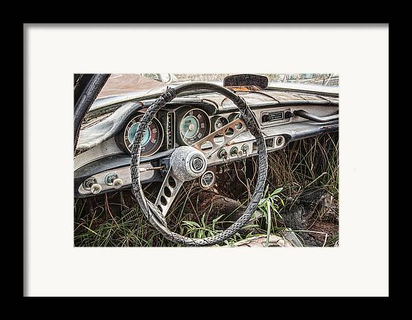 Merging With Nature Framed Print featuring the photograph Merging With Nature by Dale Kincaid