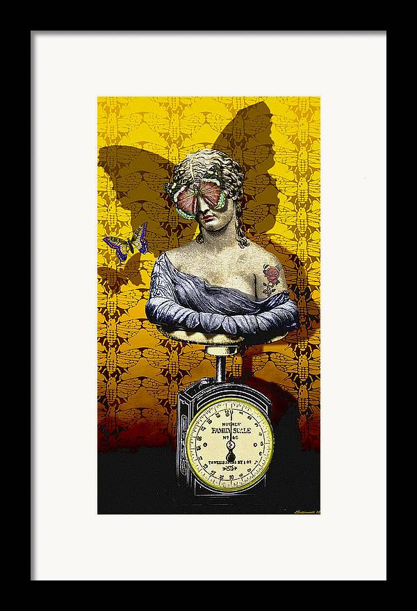 Surrealism Framed Print featuring the digital art Metamorphosis by Larry Butterworth