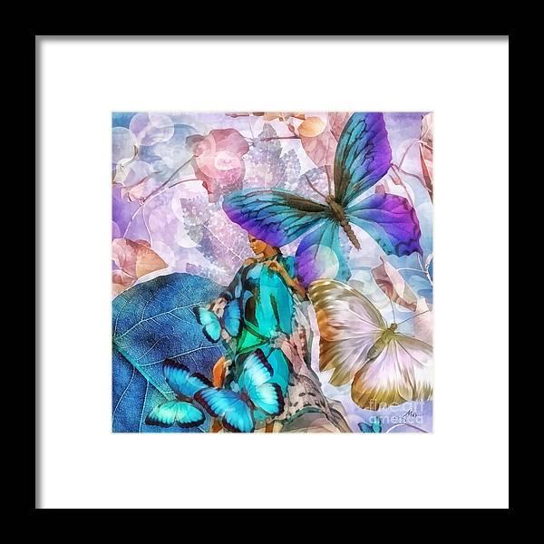 Metamorphosis Framed Print featuring the painting Metamorphosis by Mo T