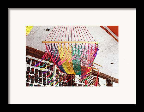 Mexico Framed Print featuring the photograph Mexican Souvenir by Charline Xia