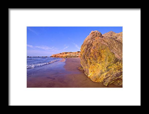 Tranquility Framed Print featuring the photograph Mexico, Gulf Of California, Baja by Dkar Images