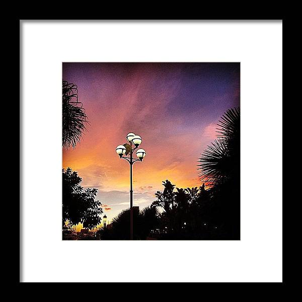 Europe Framed Print featuring the photograph #mgmarts #spain #sea #seaside by Marianna Mills