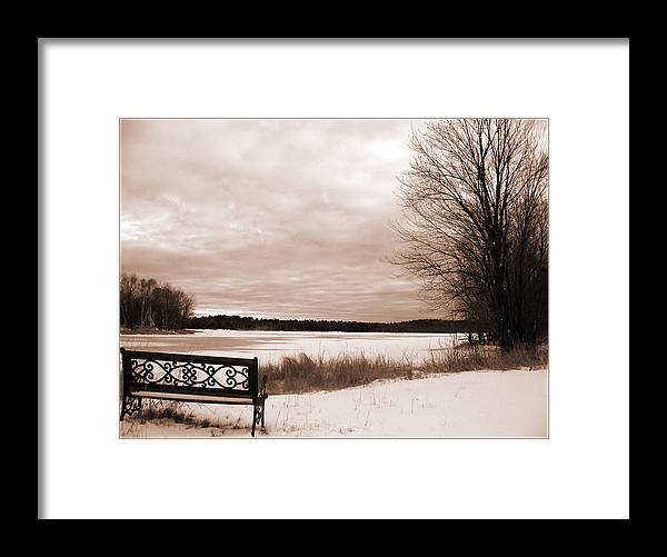 Framed Print featuring the photograph Miaja's Seat by Matthew Barton