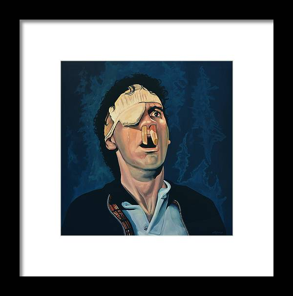 Michael Palin Framed Print featuring the painting Michael Palin by Paul Meijering