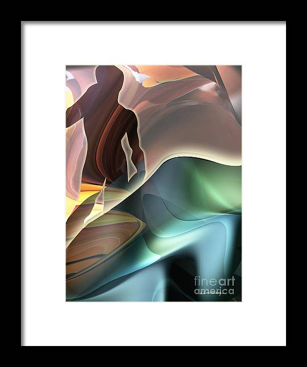 Michelangelo Framed Print featuring the painting Michel Angelo David Inspiration.jpg by Christian Simonian