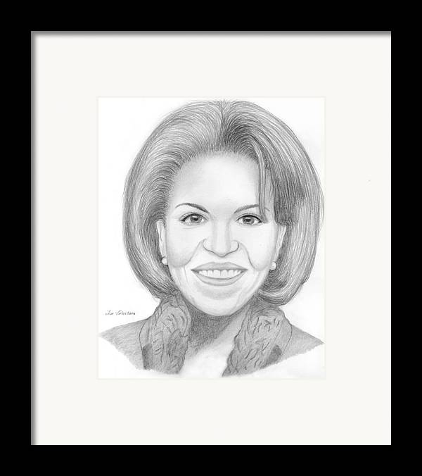 Michelle Obama Framed Print featuring the drawing Michelle Obama by M Valeriano