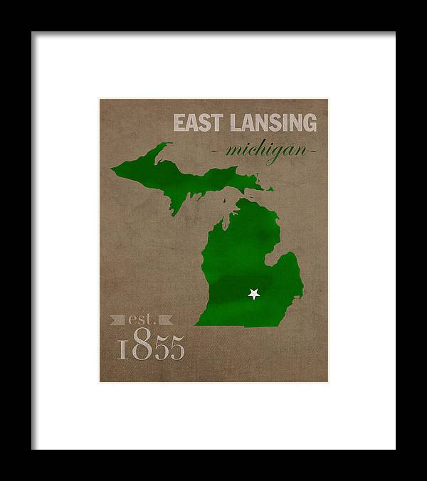 Michigan State University Spartans East Lansing College Town State