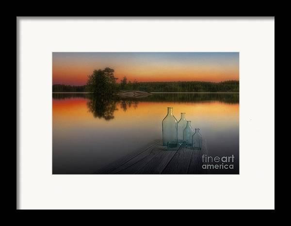 Art Framed Print featuring the photograph Midsummer Magic by Veikko Suikkanen