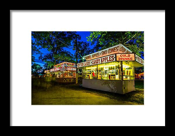 Midway Framed Print featuring the photograph Midway Eats by Kevin Jarrett