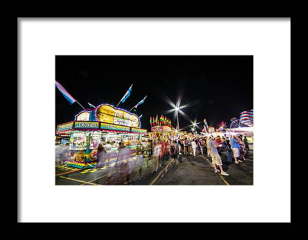 Midway Framed Print featuring the photograph Midway by Kevin Jarrett