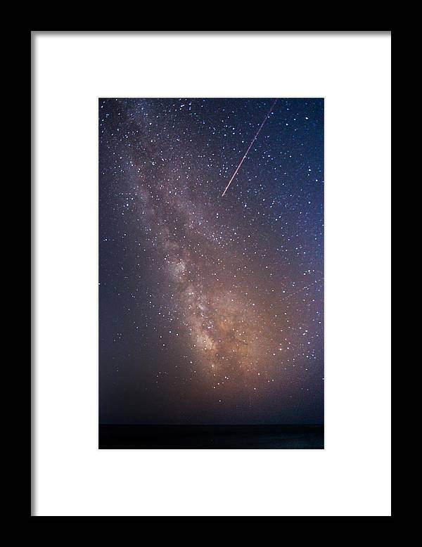 Majestic Framed Print featuring the photograph Milky Way by Luca Libralato Photography