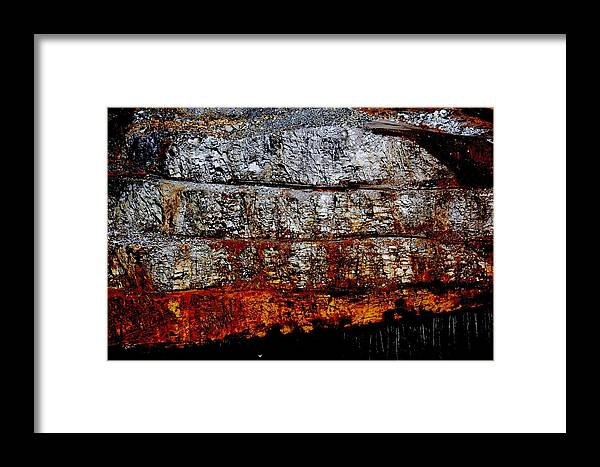 Mine Framed Print featuring the photograph Mining by Aarlangdi Art And Photography