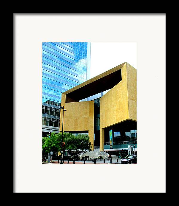 Charlotte Framed Print featuring the photograph Mint Museum Charlotte by Randall Weidner
