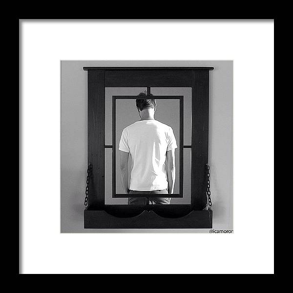Mystery Framed Print featuring the photograph Mirror by Cameron Bentley