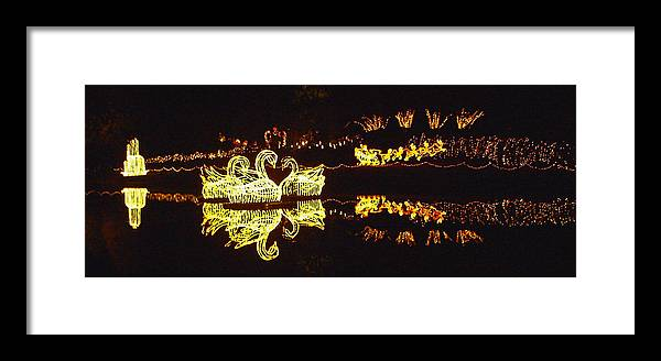 Photographic Print Framed Print featuring the photograph Mirror Lake Reflections by Marian Bell