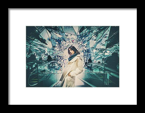 Mood Framed Print featuring the photograph Mirrors by Daisuke Kiyota