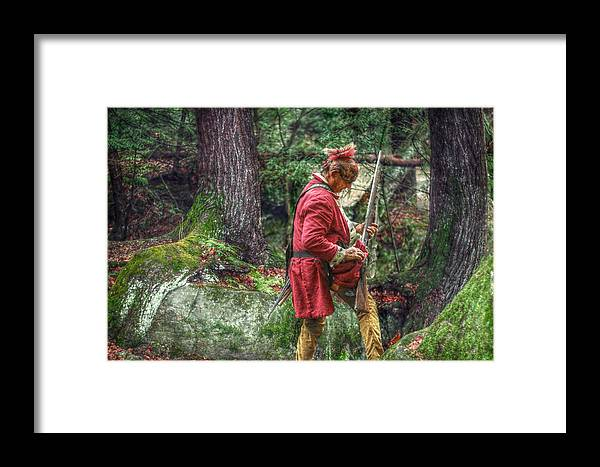 Warrior Framed Print featuring the digital art Misfire by Randy Steele