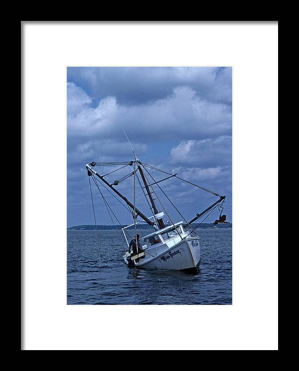 Watermen Framed Print featuring the photograph Miss Susan by Skip Willits
