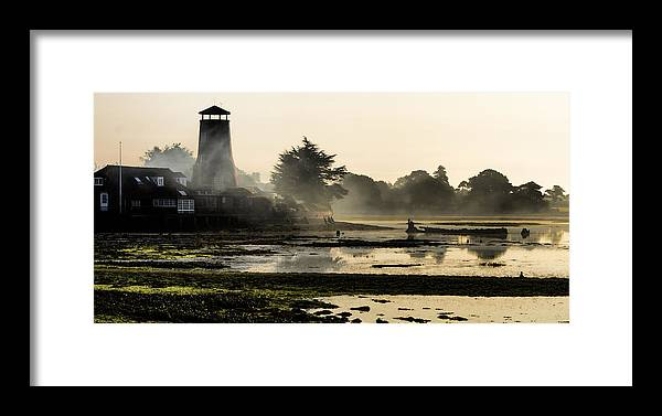 Trevor Wintle Framed Print featuring the photograph Mist On The Morning Tide by Trevor Wintle