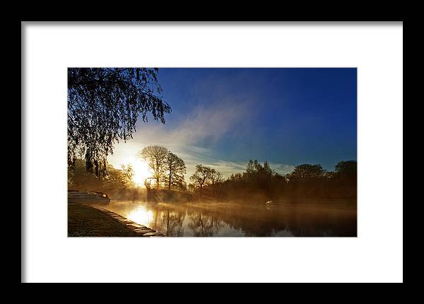 River Framed Print featuring the photograph Misty Morning by Beverly Cash