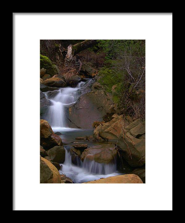 Mix Canyon Framed Print featuring the photograph Mix Canyon Creek by Bill Gallagher