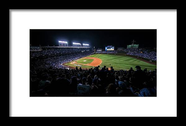 Animal Framed Print featuring the photograph Mlb Oct 29 World Series - Game 4 - by Icon Sportswire