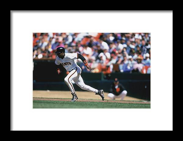 Candlestick Park Framed Print featuring the photograph MLB Photos Archive by Jeff Carlick