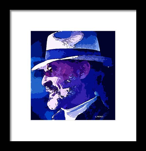 Mojo Framed Print featuring the painting Mojo by George Pedro