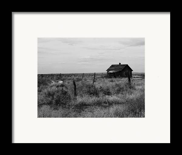 Model Colorado Framed Print featuring the photograph Model Home by Anna Villarreal Garbis