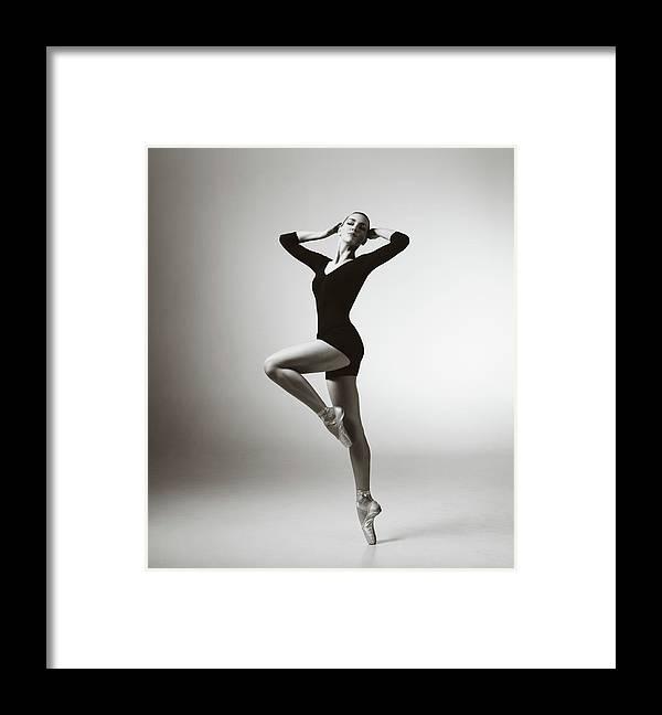 Ballet Dancer Framed Print featuring the photograph Modern Dancer by Lambada