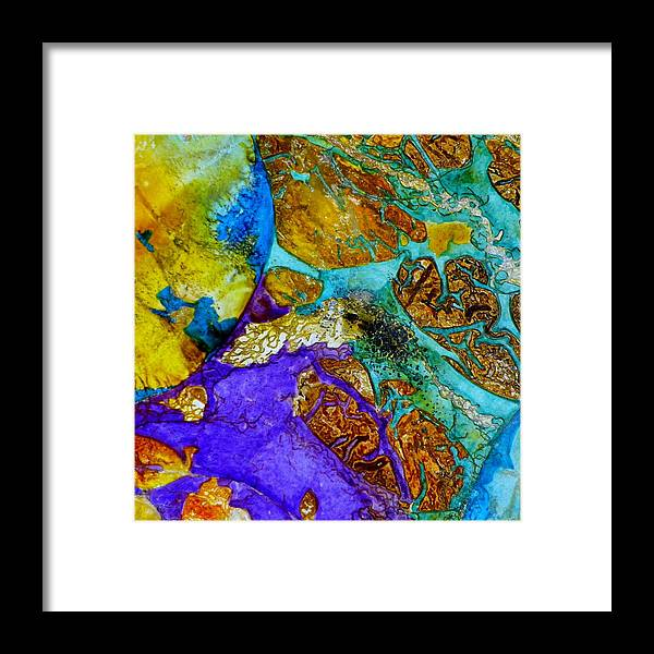 Fantasy Framed Print featuring the painting Modo Four by David Raderstorf