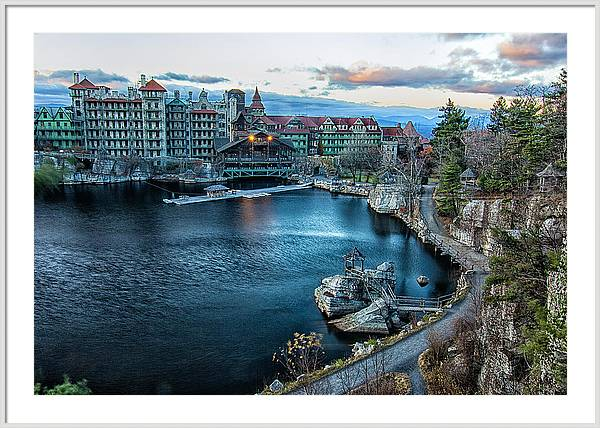 Mohonk Mountain House by Carolyn Odell