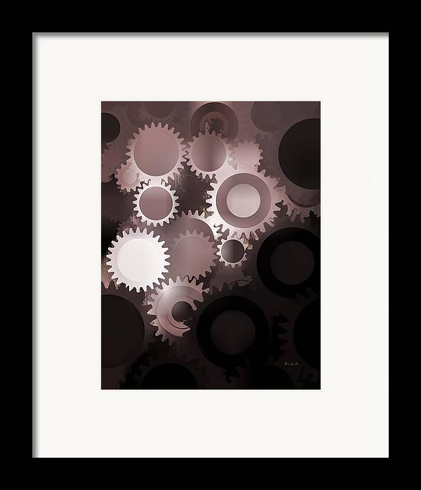 Gears Framed Print featuring the photograph Mojo Synchronicity by Bob Orsillo