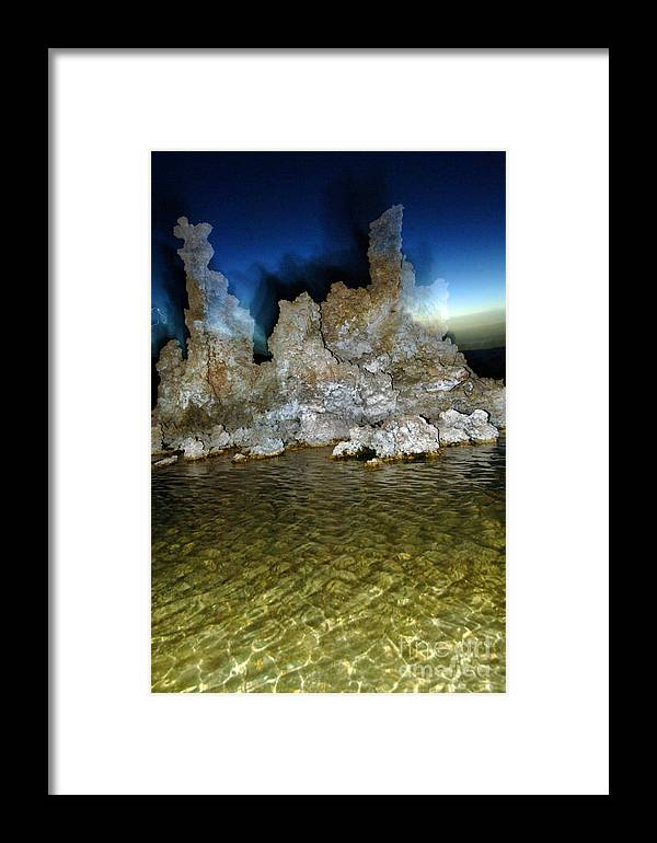 Mono County Framed Print featuring the photograph Monolake 0146 by Ron Brown Photography