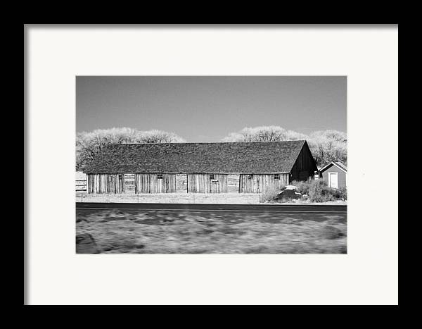 Montana Framed Print featuring the photograph Montana Building by Paul Bartoszek
