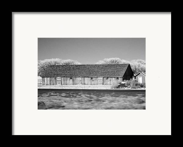 Montana Framed Print featuring the photograph Montana Building by Paul Bartoszek