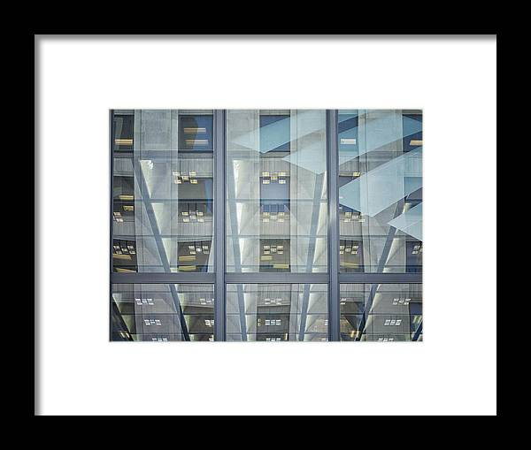 Windows Framed Print featuring the photograph Montgomery Street by Jessica Levant