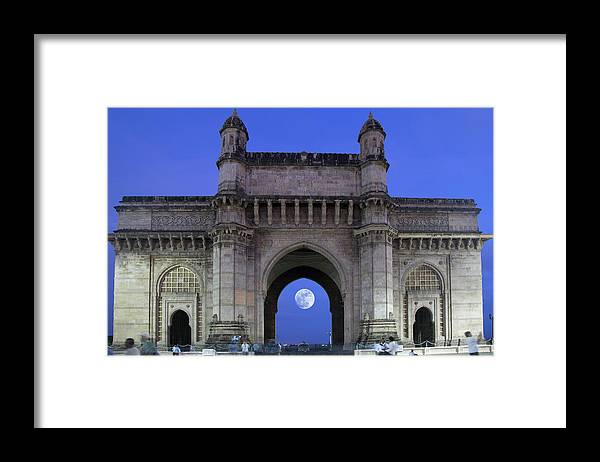 Arch Framed Print featuring the photograph Monument Entrance by Grant Faint