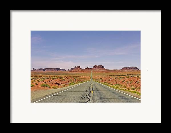 Monument Framed Print featuring the photograph Monument Valley - The Classic View by Christine Till
