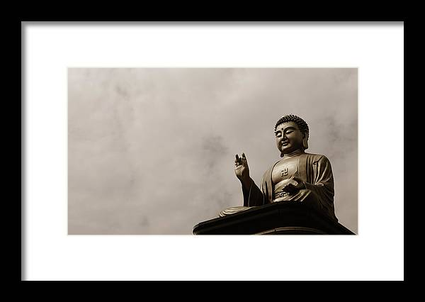 Tranquility Framed Print featuring the photograph Monument by Welcome To Buy My Photos