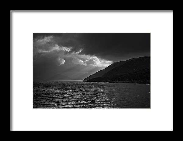 Scenics Framed Print featuring the photograph Moody Scottish Weather by Charles Briscoe-knight