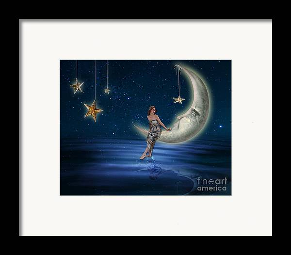 Abstract Framed Print featuring the photograph Moon Goddess by Juli Scalzi