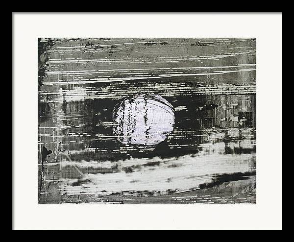 Framed Print featuring the painting Moonlight by Jigme Namgyel
