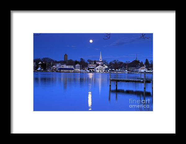 Moon Framed Print featuring the photograph Moonrise 1 by Butch Lombardi